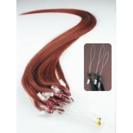 Haar für die Methoden Micro Ring / Easy Loop 60 cm – kupfer